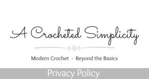 A Crocheted Simplicity Privacy Policy
