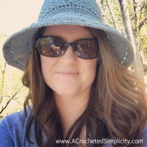 Stop & Rewind Sunhat – Free Crochet Pattern *Adult Sizes