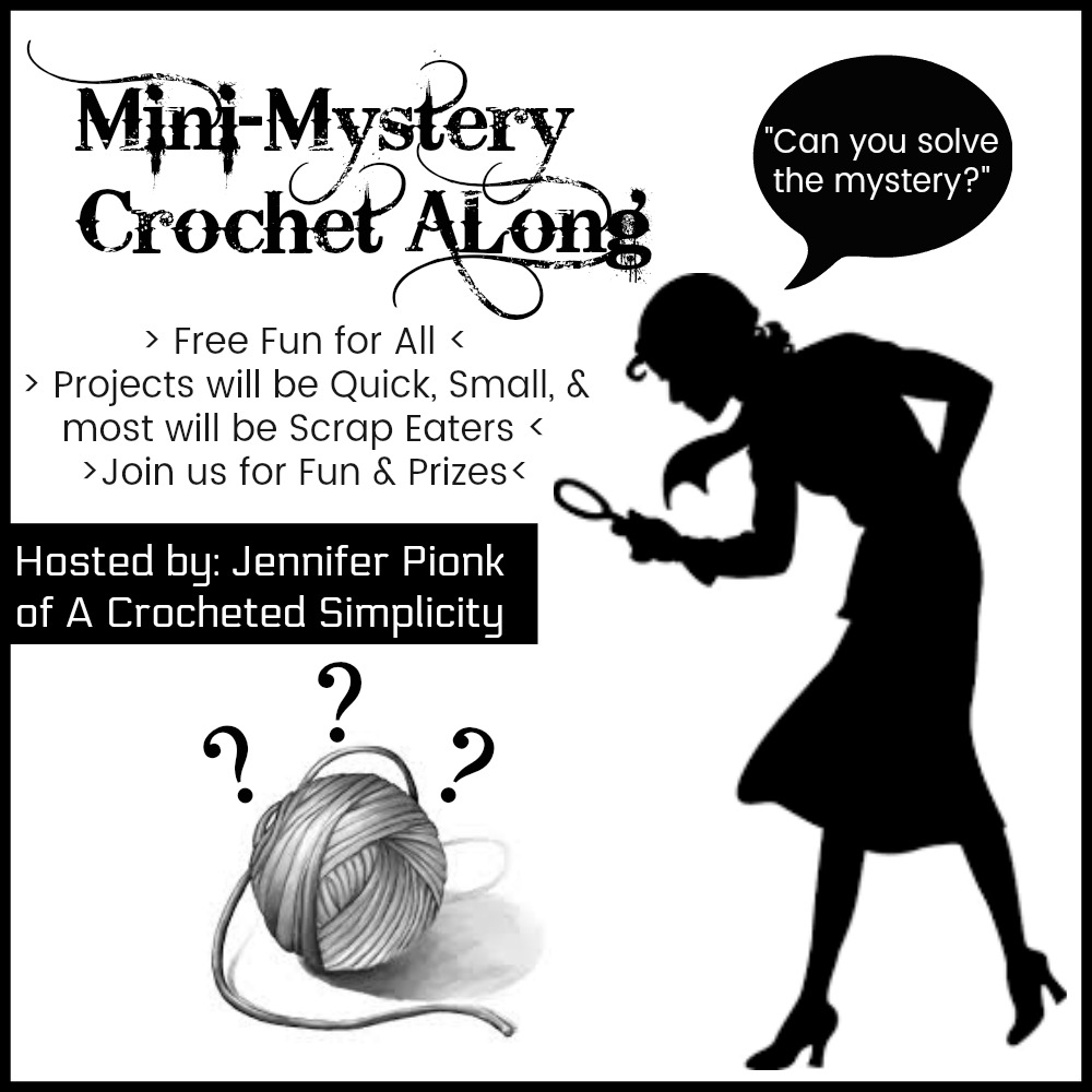 Friday Follow Along_10 >> Mini Mystery Crochet Along 10 Guest Designer A Crocheted Simplicity