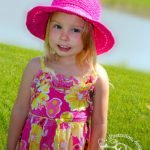Free Crochet Pattern - Stop & Rewind Sunhat by A Crocheted Simplicity Sizes Included: Doll through Adult Large