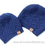 Free Crochet Hat Pattern - Chevron Peaks Slouch by A Crocheted Simplicity part of the #HatNotHate campaign #crochet #stompoutbullying #crochethat