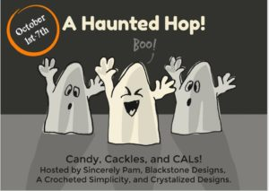 Join us for the 1st Annual Haunted Hop - a Crochet Along style Blog Hop!