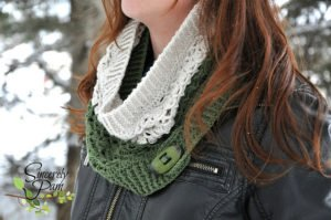 Crochet Pattern - Kate Cowl by Sincerely, Pam