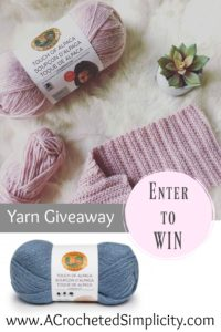 Enter to WIN! Lion Brand Yarn's Touch of Alpaca #yarngiveaway #giveaway