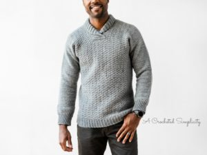 Join us for the Wulf Men's Pullover Crochet Along