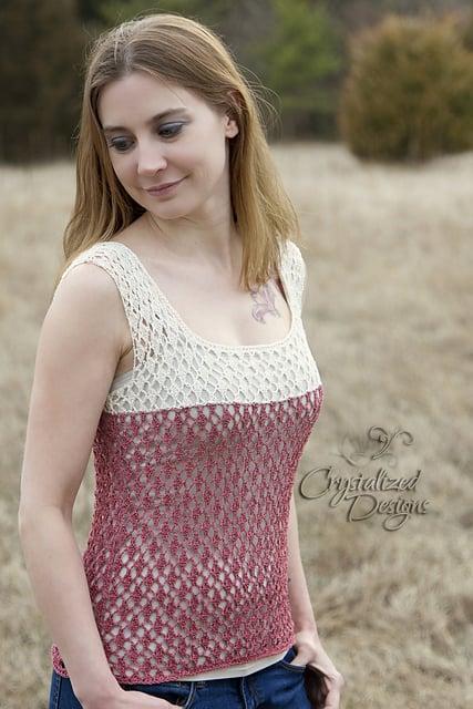 Crochet Pattern - Stargazer Lace by Crystalized Designs