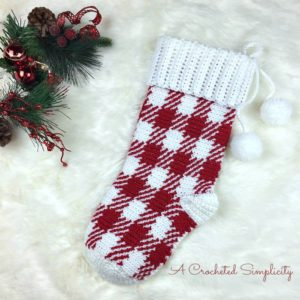 Join us for the 2018 Christmas Stocking Crochet Along! Hosted by A Crocheted Simplicity