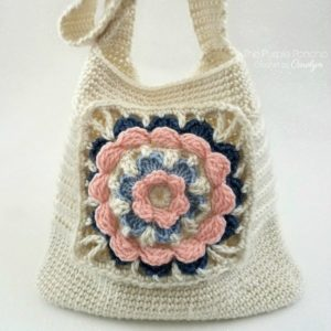 Free Crochet Pattern - My Favorite Tote Bag by The Purple Poncho