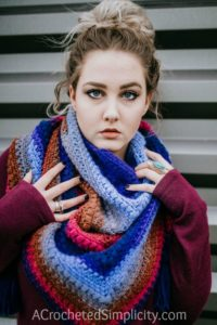 Griffin Shawl / Scarf – Free Crochet Shawl Pattern