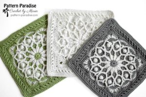 Free Crochet Square Pattern - Casablanca Square by Pattern Paradise