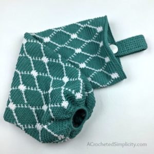 Moroccan Grocery Bag Holder – Free Crochet Bag Pattern