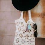 Summer Breeze Tote Bag - Free Crochet Bag Pattern by A Crocheted Simplicity for Make & Do Crew #freecrochetpattern #freecrochettotepattern #crochettote #crochetbag #crochet