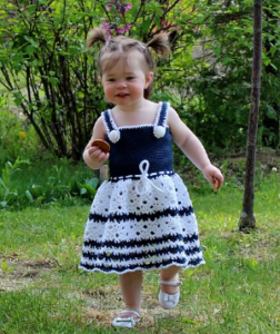 Crochet Pattern - Amelia Toddler Sundress by Sweet Potato Crochet Creations