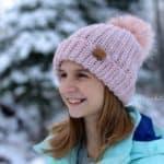 Crochet Hat Pattern - Alix Beanie & Slouch by A Crocheted Simplicity #crochetbeanie #crochetslouch #crochethat #crochet #crochethatpattern #crochetbeaniepattern #handmade #lionbrandwoolease