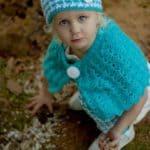 Crochet Shrug Pattern - Classic Charm Girls Shrug Pattern by A Crocheted Simplicity #crochetshrug #crochetcapelet #crochetgirlsshrug #crochetforgirls #crochetpattern #crochetshrugpattern #handmade