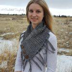 Crochet Pattern - Mini-Moguls Cowl by A Crocheted Simplicity #crochetcowl #crochetcowlpattern #texturedcrochet #crochet #handmade #crochetscarf #scarfpattern #cowlpattern