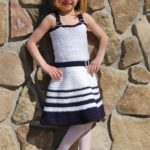 Crochet Sundress Pattern - Sweet & Sassy Sundress by A Crocheted Simplicity #crochetsundress #crochetpattern #girlssundress #girlssundresspattern #crochetsundresspattern #handmadesundress