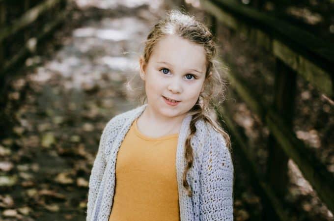 Free Crochet Cardigan Pattern - Aurora Cardigan for Girls by A Crocheted Simplicity #crochet #crochetcardigan #crochetcardiganpattern #freecrochetpattern #crochetsweater #crochetgirlscardigan