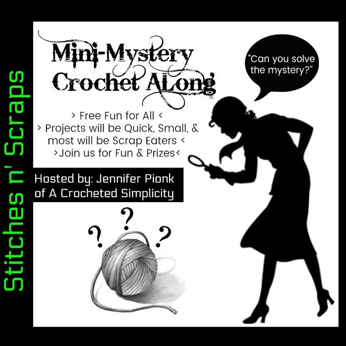 Free Mini-Mystery Crochet Alongs hosted by A Crocheted Simplicity