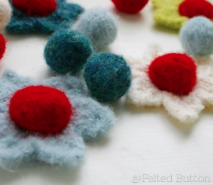 Mini-Mystery Crochet Along Guest Designer - Felted Button