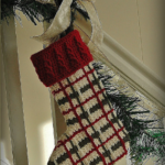 Perfectly Plaid Christmas Stockings