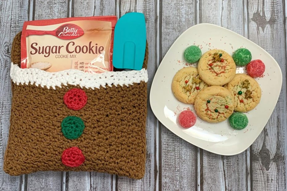 Free Crochet Pattern - Gingerbread Man Belly Pot Holder by Blackstone Designs