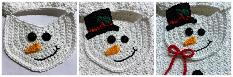 Snowman Kitchen Towel Free Crochet Towel Pattern A Crocheted Simplicity