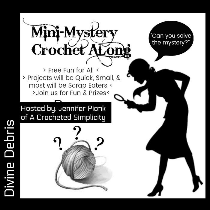 Join us for Mini-Mystery Crochet Along #21 with Guest Designer Divine Debris