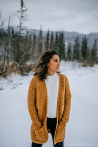 Free Crochet Cardigan Pattern - Aurora Cardigan for Women by A Crocheted Simplicity #crochetcardigan #freecrochetpattern #crochetcardiganpattern #cardiganpattern #crochetsweater