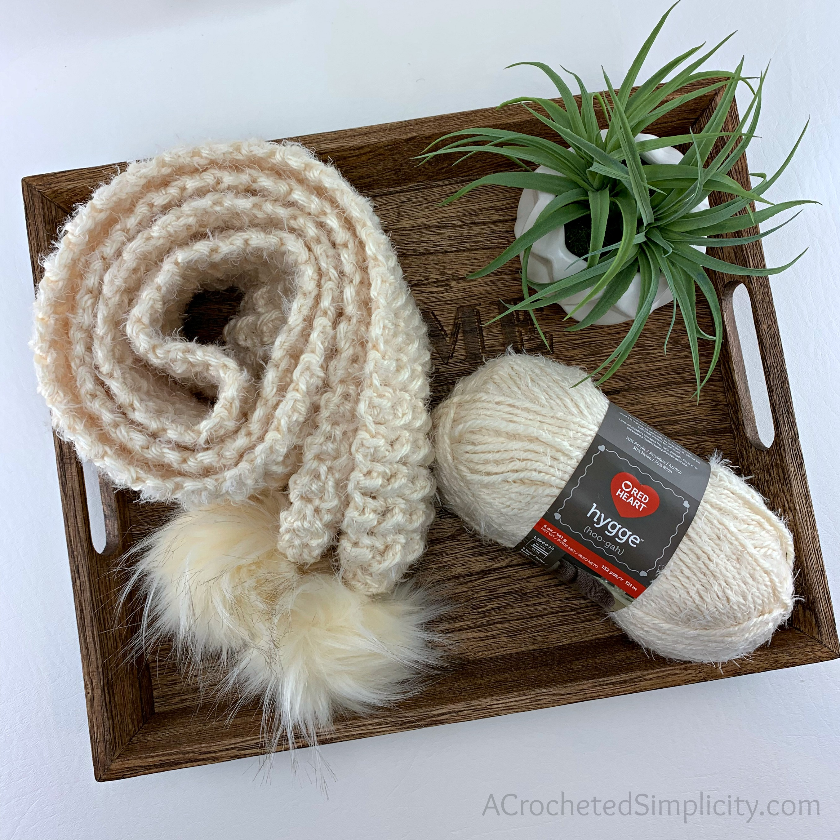 Free Crochet Pattern - Winter's Edge Scarf by A Crocheted Simplicity #freecrochetpattern #crochetscarfpattern #freecrochetscarfpattern #texturedcrochet #crochetpattern #scarfpattern #texturedstitchpattern #easycrochetpattern