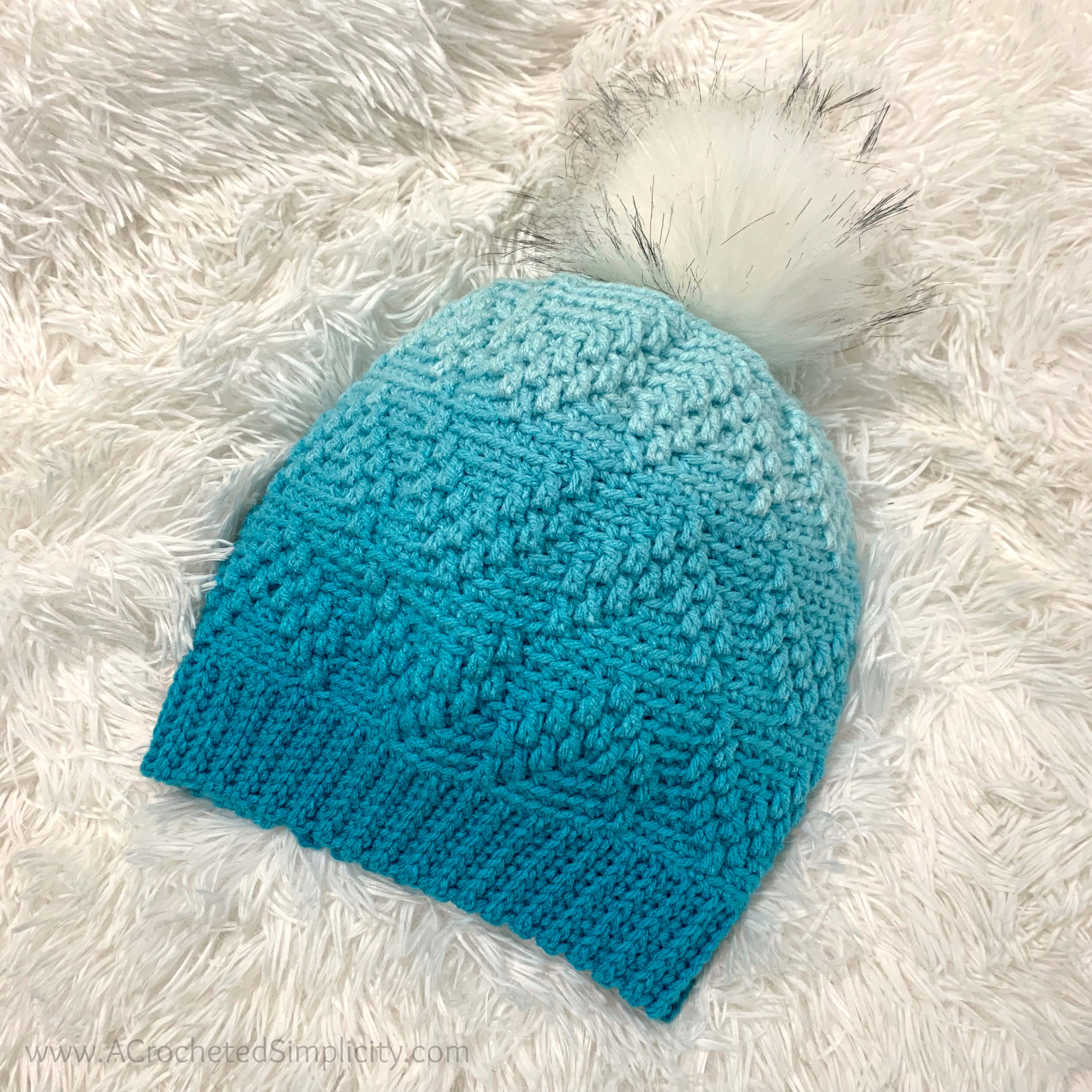 Free Crochet Hat Pattern - Arrows Beanie & Slouch by A Crocheted Simplicity #freecrochetpattern #freecrochethatpattern #crochethatpattern #crochetbeaniepattern #crochetslouchpattern #crochetbeanie #crochethat #crochetslouch #texturedcrochet #crochetstyle