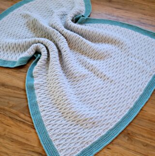 Free Crochet Blanket Pattern - Triple Textures Afghan by A Crocheted Simplicity #freecrochetblanketpattern #freecrochetafghanpattern #texturedcrochet crochetblanket