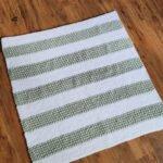 Free Crochet Blanket Pattern - Abrielle Baby Blanket by A Crocheted Simplicity #freecrochetpattern #crochetblanketpattern #crochetbabyblanket #freecrochetblanketpattern #handmadeblanket #crochetforbaby #crochetpatternsforbaby #crochet